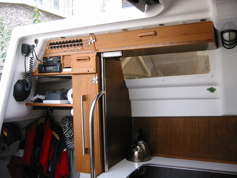 The Macgregor 26x Yacht Restless Galley Mods