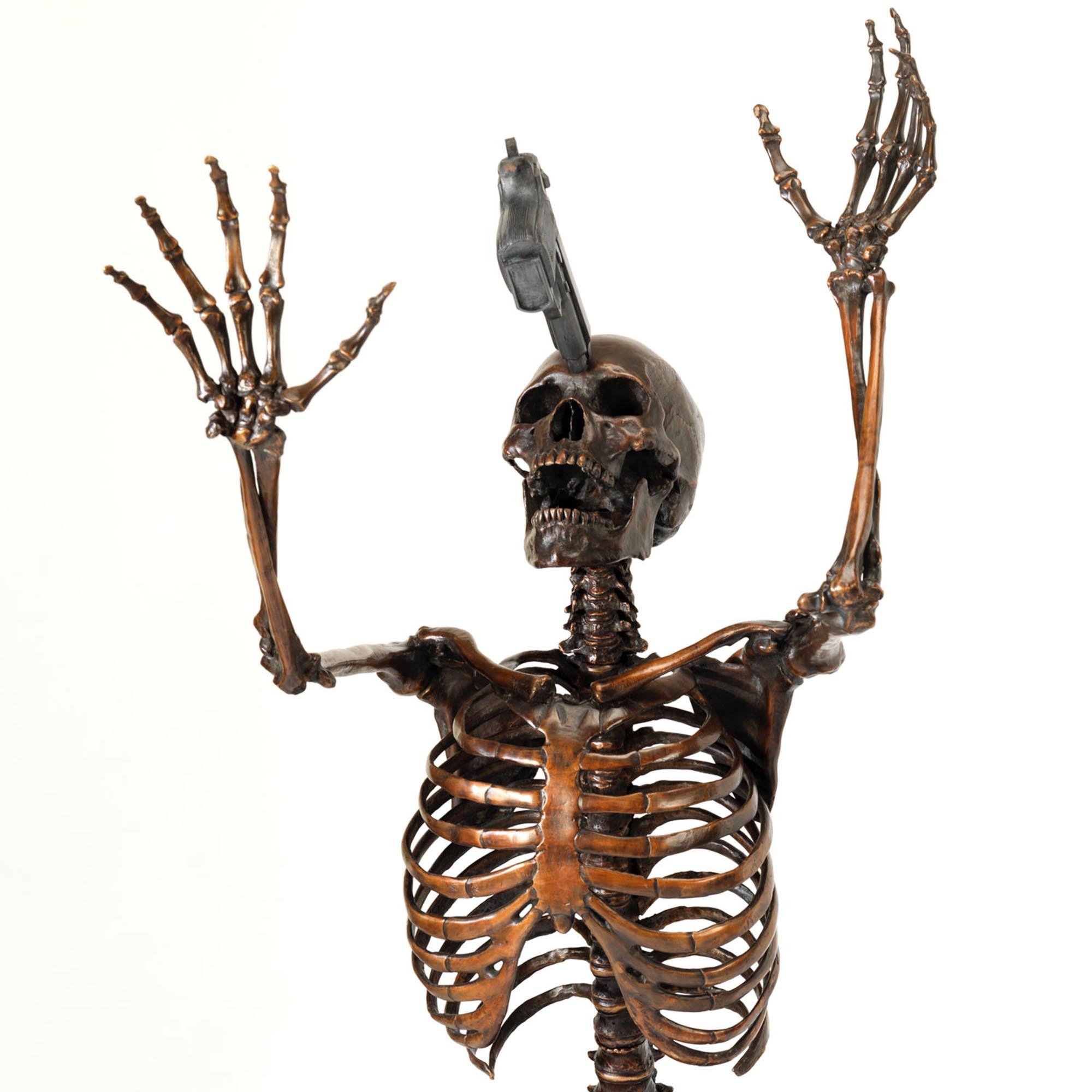 bronze nobody is innocent skeleton