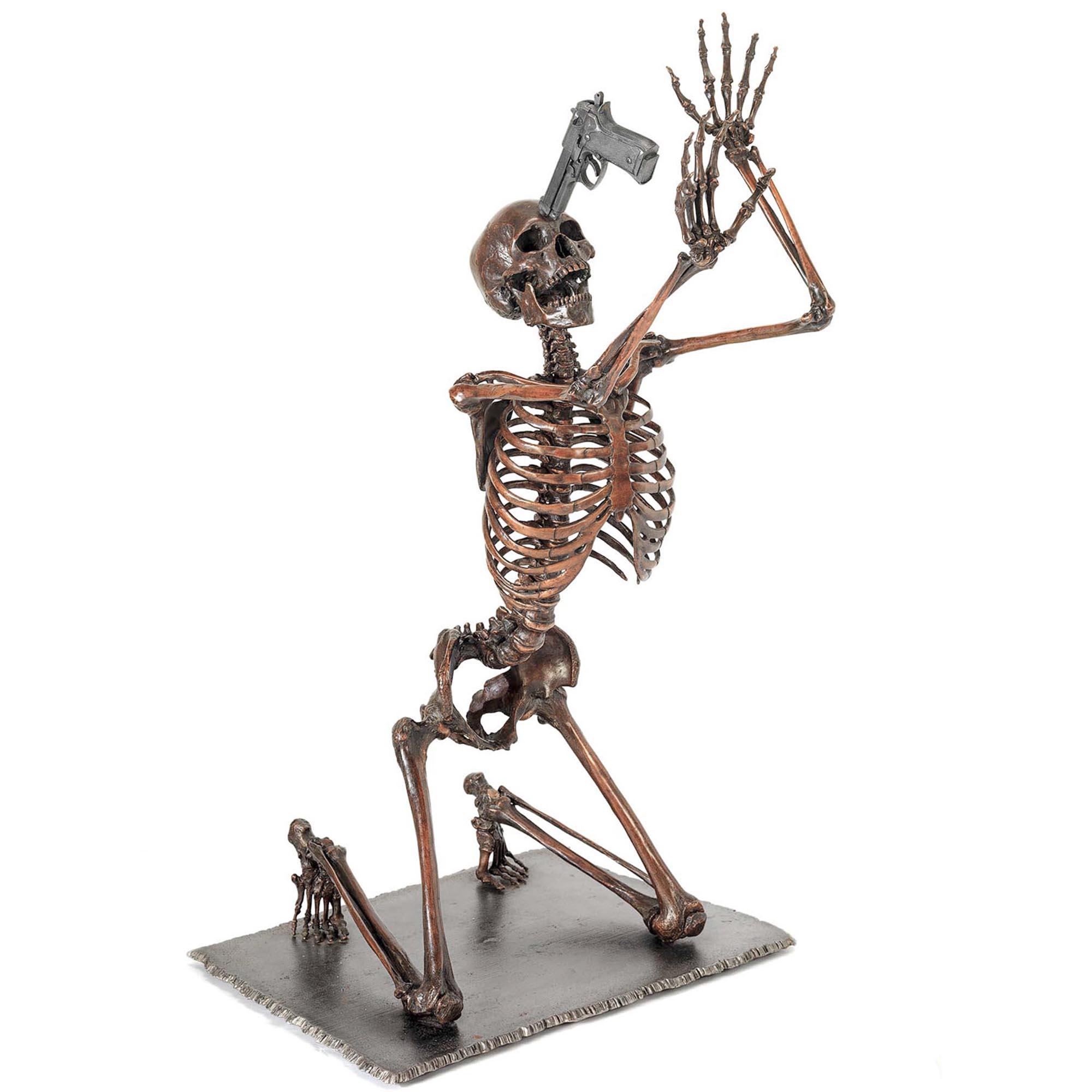 bronze nobody is innocent skeleton