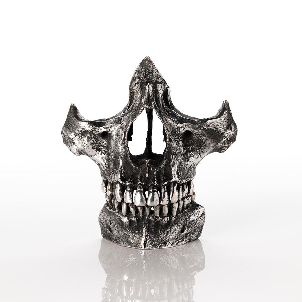 Dali based skull sculpture