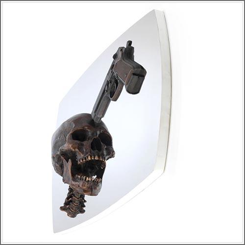 skeleton life size vitruvian man, da vinci, nobody