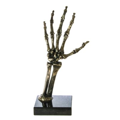 silver skeleton hand